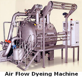 Airflow Dyeing Machine
